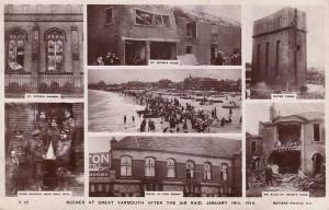 Zeppelin Air Raid on Great Yarmouth, January 1915
