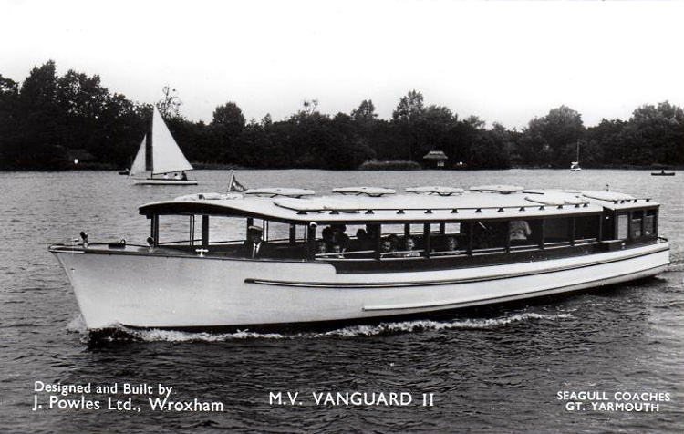 Old broads tours boats never die broadland memories blog vanguard 2 c1960 publicscrutiny Image collections
