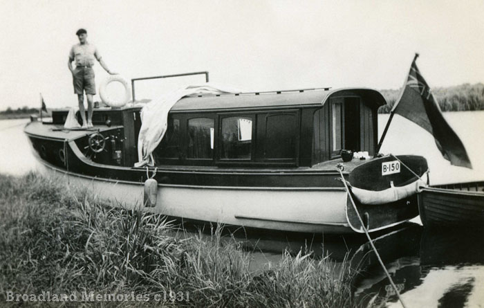 Talsiman on the Norfolk Broads 1931