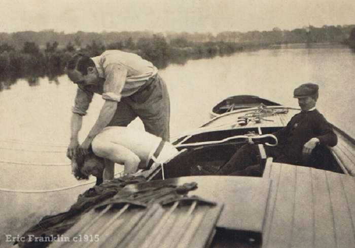 Lapwing Norfolk Broads c1915