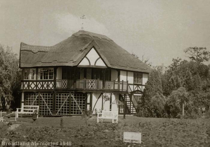 Riverside Bungalow near Horning Ferry 1948