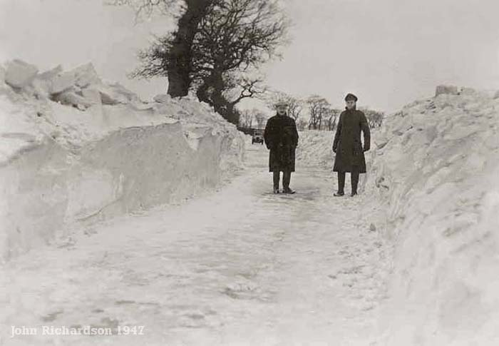 Reedham, Norfolk Winter 1947