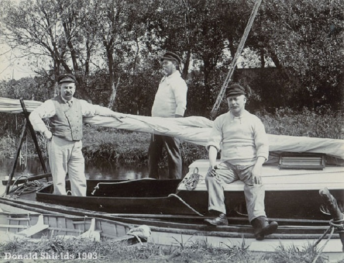 Norfolk Broads 1903