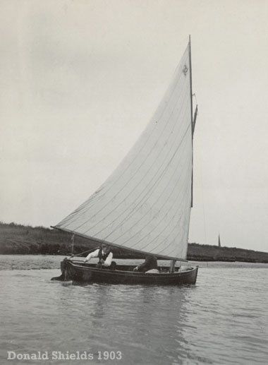 Norfolk 14 dinghy 1903