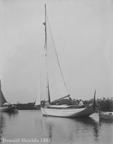 Sailing on the Norfolk Broads 1903
