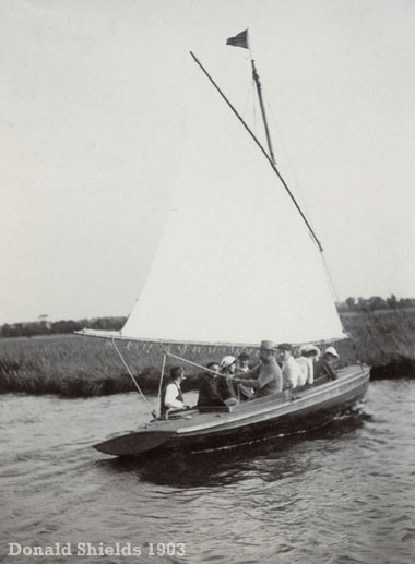 Norfolk Broads halfdecker 1903