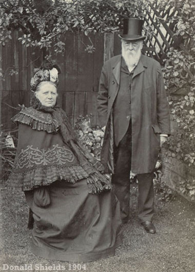 George & Elizabeth Buckingham 1904