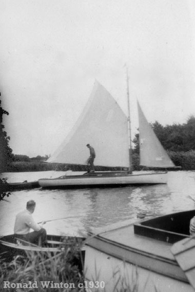 The Norfolk Broads c1930