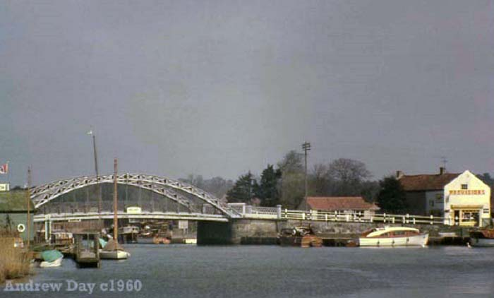 St Olaves Bridge and the stores c1960