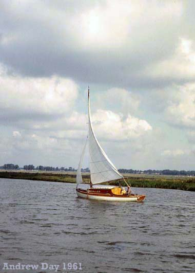 Sailing on the River Bure in 1961