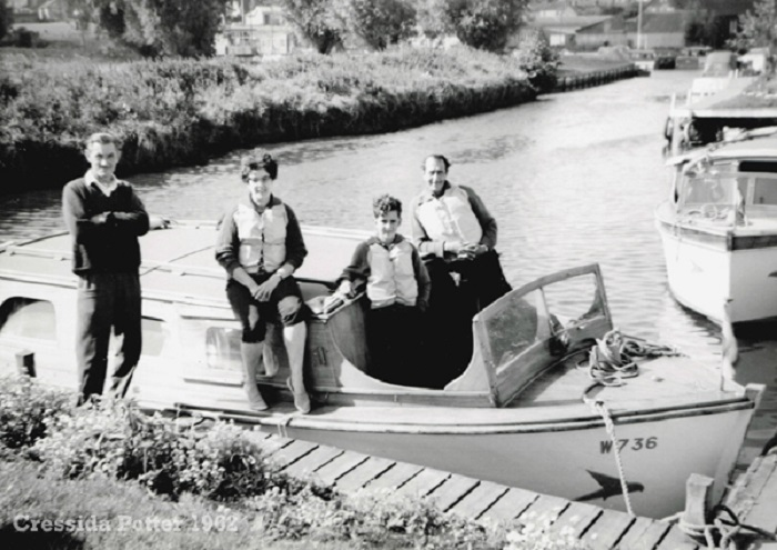 Hippersons boatyard at Beccles 1962