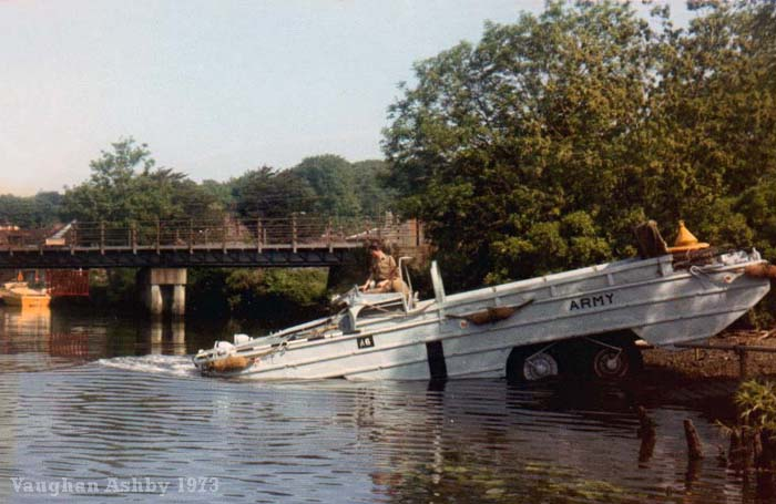 DUKW at Thorpe St Andrew 1973