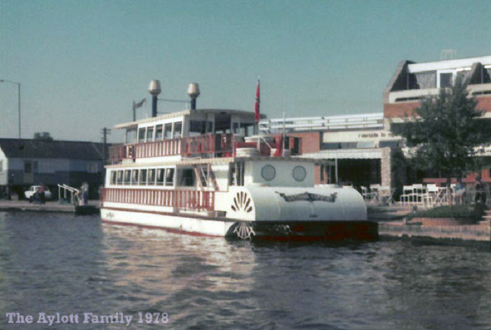 Southern Comfort at Wroxham 1978