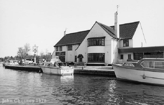 Horning Ferry Inn 1978