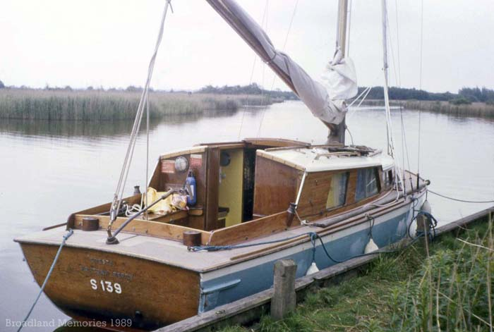 Cresta on the Norfolk Broads 1989