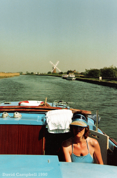 The River Bure at Stracey Arms 1990