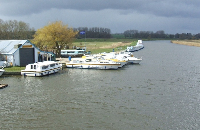 The view from Acle Bridge 2008