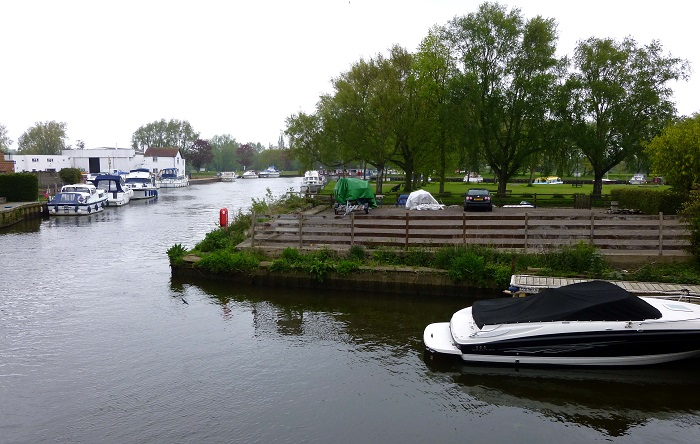 The River Waveney at Beccles 2013