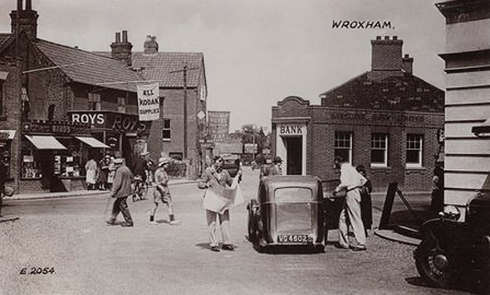 Hoveton village centre c1949