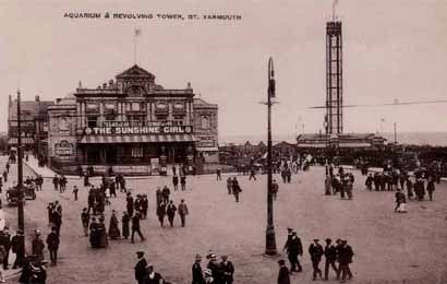 Aquarium & Revolving Tower Great Yarmoth c1905