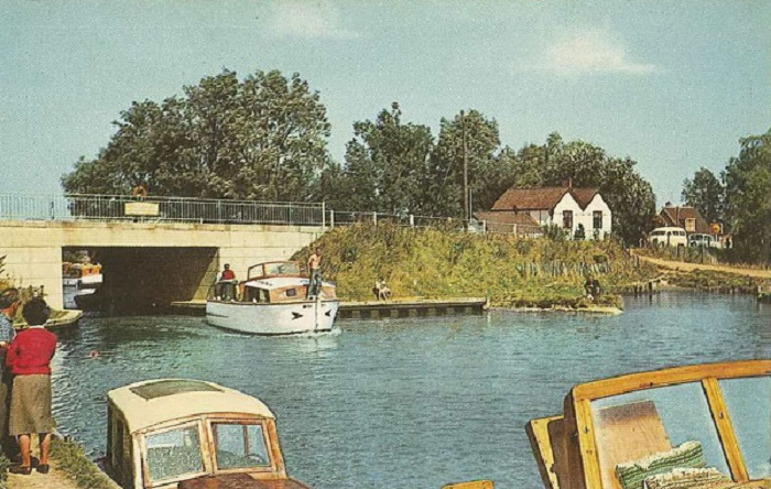 Ludham Bridge in the late 1960s/early 1970s