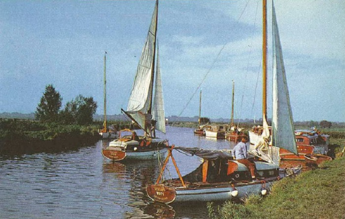The River Ant at Ludham Bridge ic1970