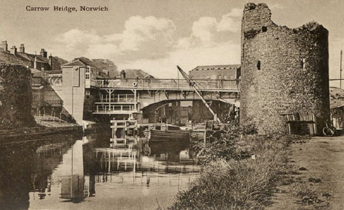 Carrow Bridge Norwich c1923