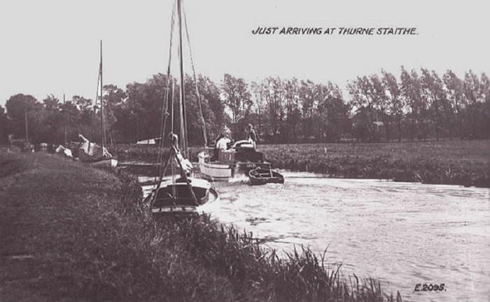 Thurne Dyke pictured in the 1950s.